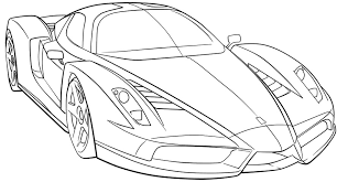 race car coloring art exhibition car coloring page at children