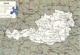 Austria Map Austria