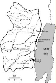 Judea Map Groundwater Flow At The Judea Desert