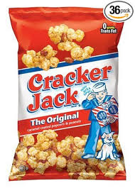 personalized cracker jacks cracker caramel coated popcorn peanuts