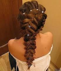 hair styles with rhinestones wedding side braid ponytails hairstyles unique wedding braided