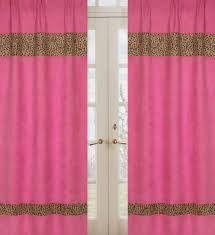 pink window panel kmart com cheetah collection panels idolza