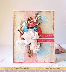 quill and punch works layered birthday card with tutorial