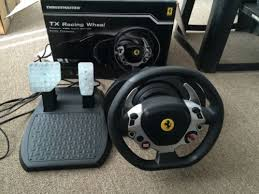 458 italia thrustmaster thrustmaster tx 458 italia edition racing wheel w pedals