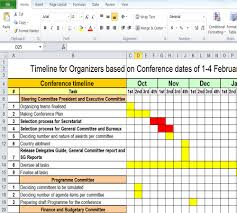 Timeline Spreadsheet Template Excel Free Timeline Spreadsheet Sle Timelines
