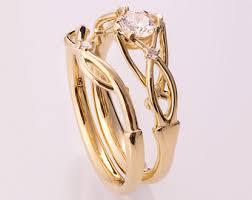 celtic wedding sets doron merav jewelry by doronmerav on etsy