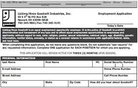free printable goodwill job application form page 4 goodwill job