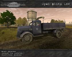 opel blitz opel blitz lkw image battlegroup frontlines mod for battlefield