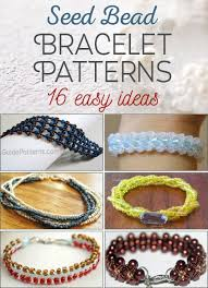 easy bracelet tutorials images 16 easy seed bead bracelet patterns links to easy projects jpg