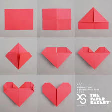 how to fold a letter into a heart levelings