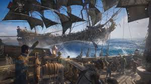 Blue And Black Flag Skull And Bones Is Shaping Up To Be The Black Flag Multiplayer