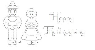 an ascii thanksgiving for you all and everything in