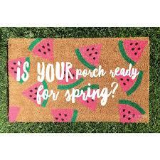 Summer Doormats 25 Best Door Mats Images On Pinterest Door Mats Welcome Mats