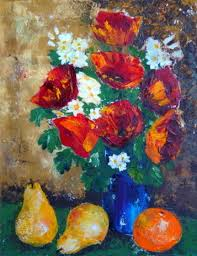 The Blue Vase Still Life U2014 Marilyn Luzzio Bridon