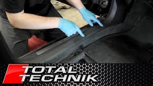 how to remove lower footwell sill a pillar trim audi a4 s4 rs4