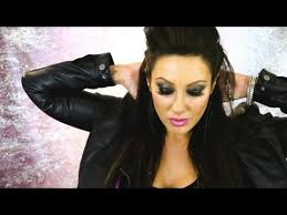 rocker chic style makeup hair u0026 youtube