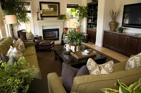 Cozy  Small Living Room Interior Designs Green Color Schemes - Green living room design