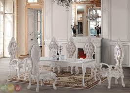 elegant italian dining table and chairs on interior design ideas