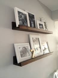 Ribba Picture Ledge Retro Ranch Reno Diy Wood Shelves