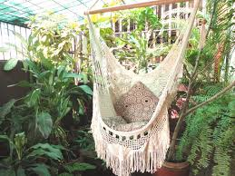 hammock chair white hammock chair with fringe and loose