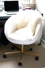 white gold office chair gold vanity chair white desk chair gold office in decor