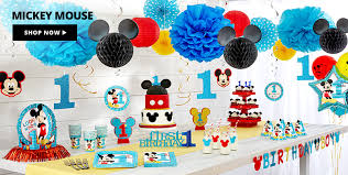 1st birthday themes for 1st birthday decorations for boys party city