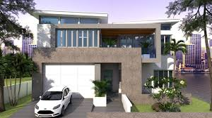 2 Stories House Sketchup 2 Story House Plan 13x15m 4bedroom Youtube