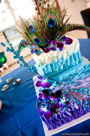 12 best blue and purple peacock wedding images on pinterest