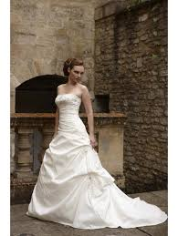 Clearance Wedding Dresses Oppulence Carnation Bridal Gown Ivory Satin Beautiful Dress