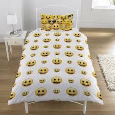 Funny Duvet Sets Emoji Smiley Faces Duvet Cover Set Available Single U0026 Double