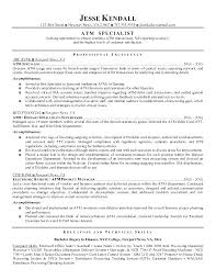 sample resume for bank teller with no experience