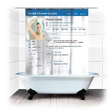 tende vasca bagno bagno poliestere tenda bagno impermeabile tessuto social