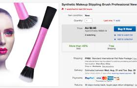 best makeup brushes to off ebay