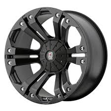 nissan murano black rims amazon com xd series monster xd778 matte black wheel 18x9