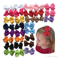 different types of hair bows baby 3 grosgrain ribbon boutique hair bows small sharp clip