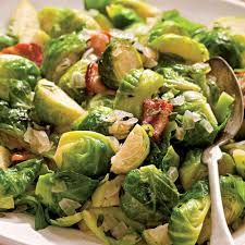 sauteed brussels sprouts with bacon onions recipe eatingwell