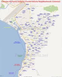 Mexico City Neighborhood Map by Vallarta Colonias