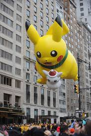 pikachu highlights from the macy s thanksgiving day parade 2014
