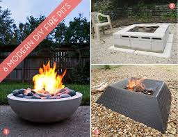 Modern Firepits Roundup 6 Awesome And Easy Diy Pits Curbly
