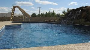fiberglass swimming pool paint color finish sapphire blue 52