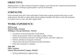 office admin resume resume awesome office assistant resumes bilingual receptionist