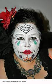 ghost face painting for halloween halloween face painting designs photo gallery