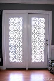 Magnetic Blinds For French Doors Front Doors Impressive Glass Front Door Shade For Home