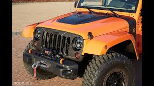jeep orange jeep wrangler mojo concept