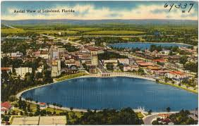 Polk County Florida Map by Aerial View Of Lakeland Florida Digital Commonwealth