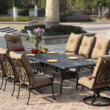 High Patio Dining Sets Outdoor Patio Dining Sets For 4 10 Seat Patio Table Patio Table