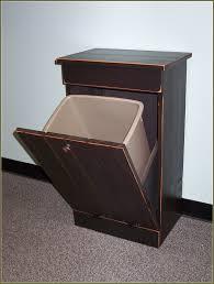 Kitchen Garbage Can Cabinet Wood Trash Cabinet 44h Us