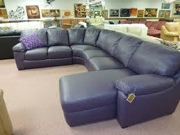 Navy Blue Leather Sofa Impressive Blue Sectional With Chaise Furniture Home Navy Sofa
