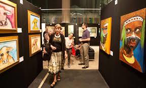 art show display lighting exhibition display services brisbane