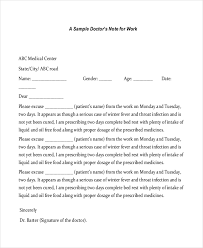medical note printable doctors note sample doctor note 30 free